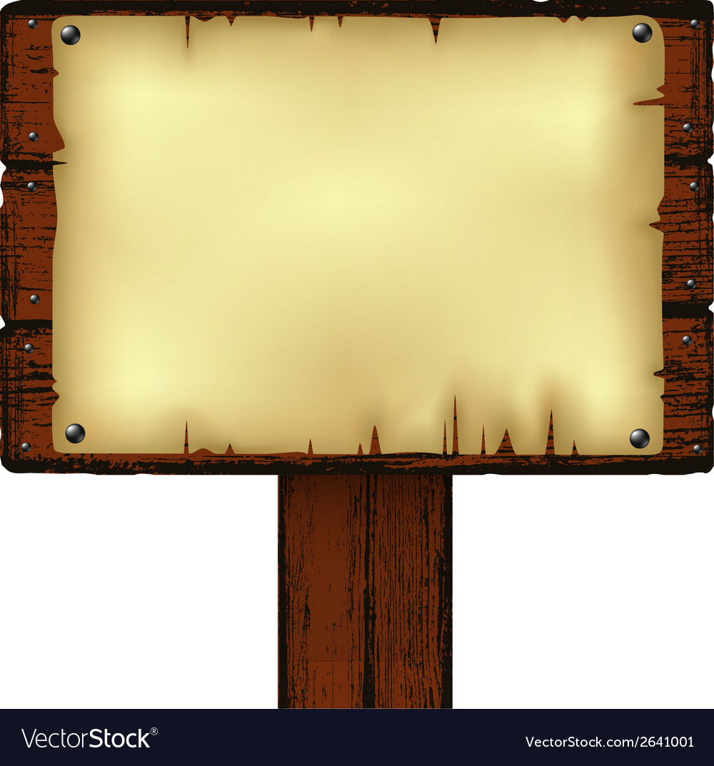 Notice board vector | Price: 1 Credit (USD $1)