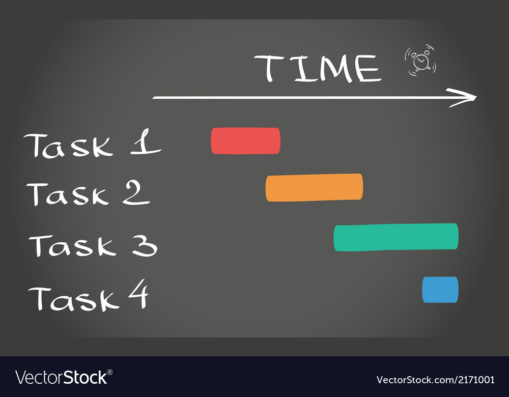 Timing plan vector | Price: 1 Credit (USD $1)