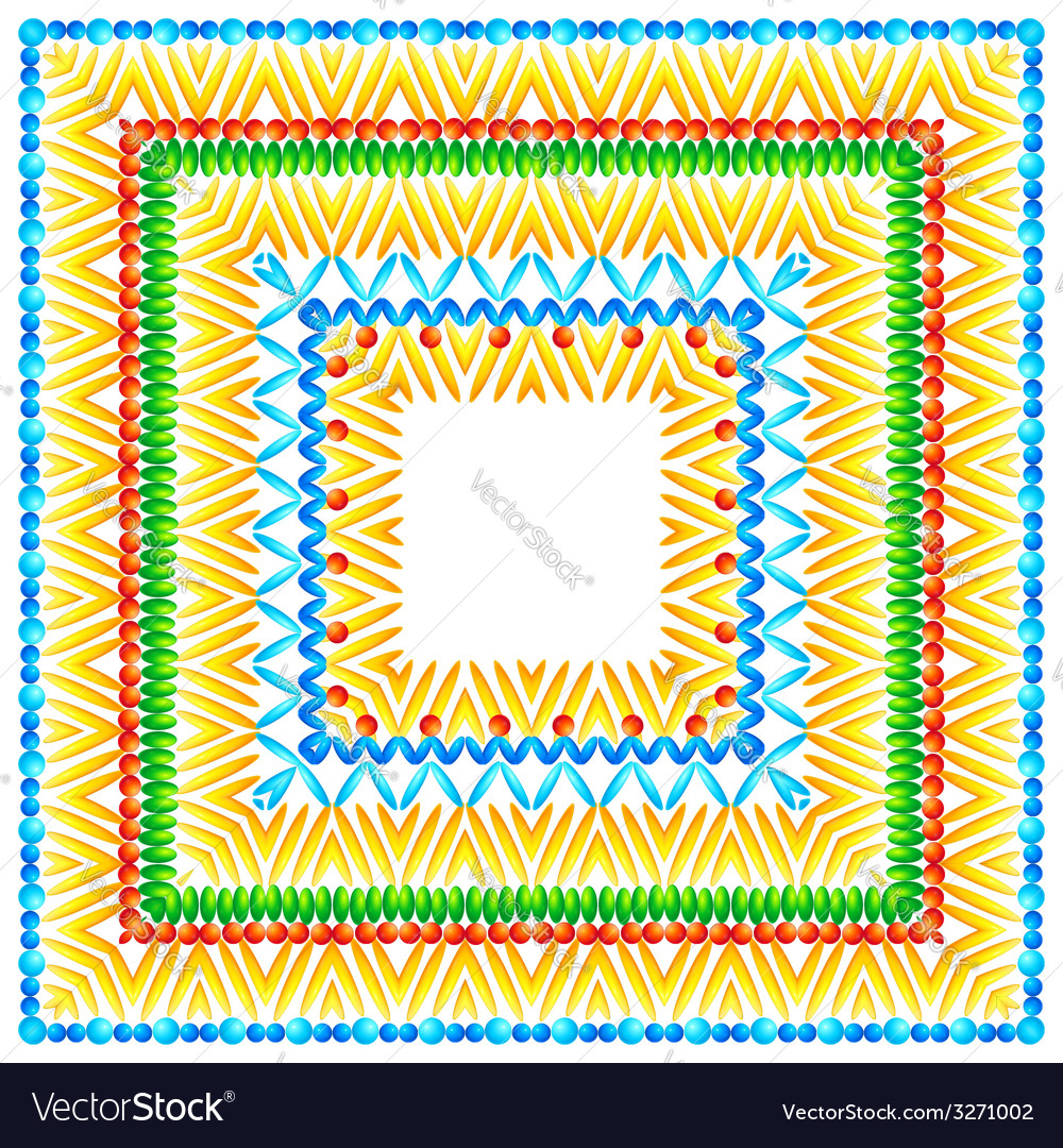 Bright pattern in african style vector | Price: 1 Credit (USD $1)