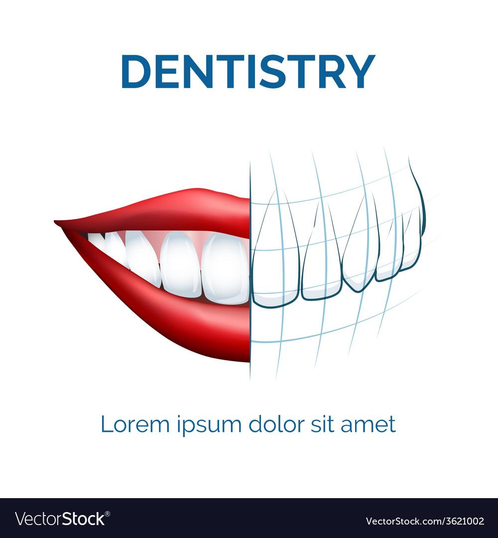 Dentistry vector | Price: 1 Credit (USD $1)