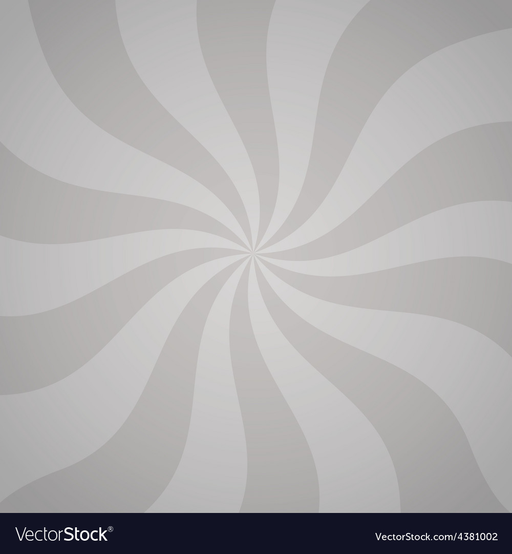 Gray background with twisted curves vector | Price: 1 Credit (USD $1)