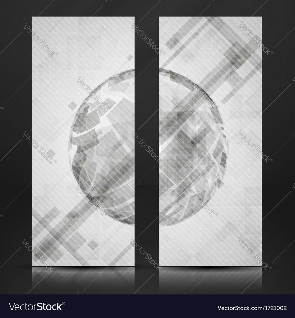 Gray globe design vector | Price: 1 Credit (USD $1)