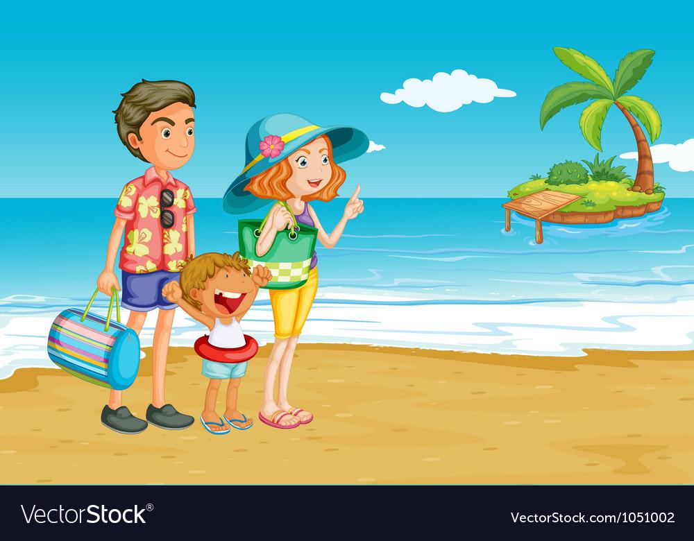 Having a picnic vector | Price: 3 Credit (USD $3)