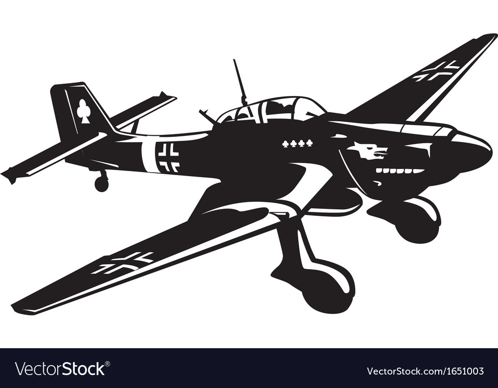 Ju87 vector | Price: 1 Credit (USD $1)