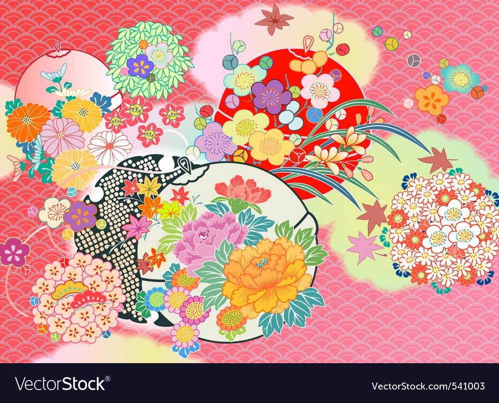 Kimono vector | Price: 1 Credit (USD $1)