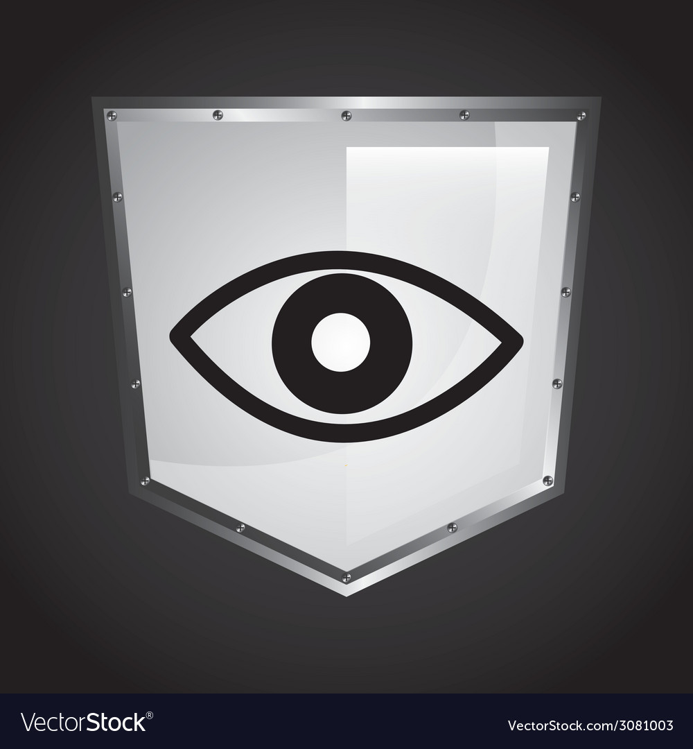 Security shield design vector | Price: 1 Credit (USD $1)