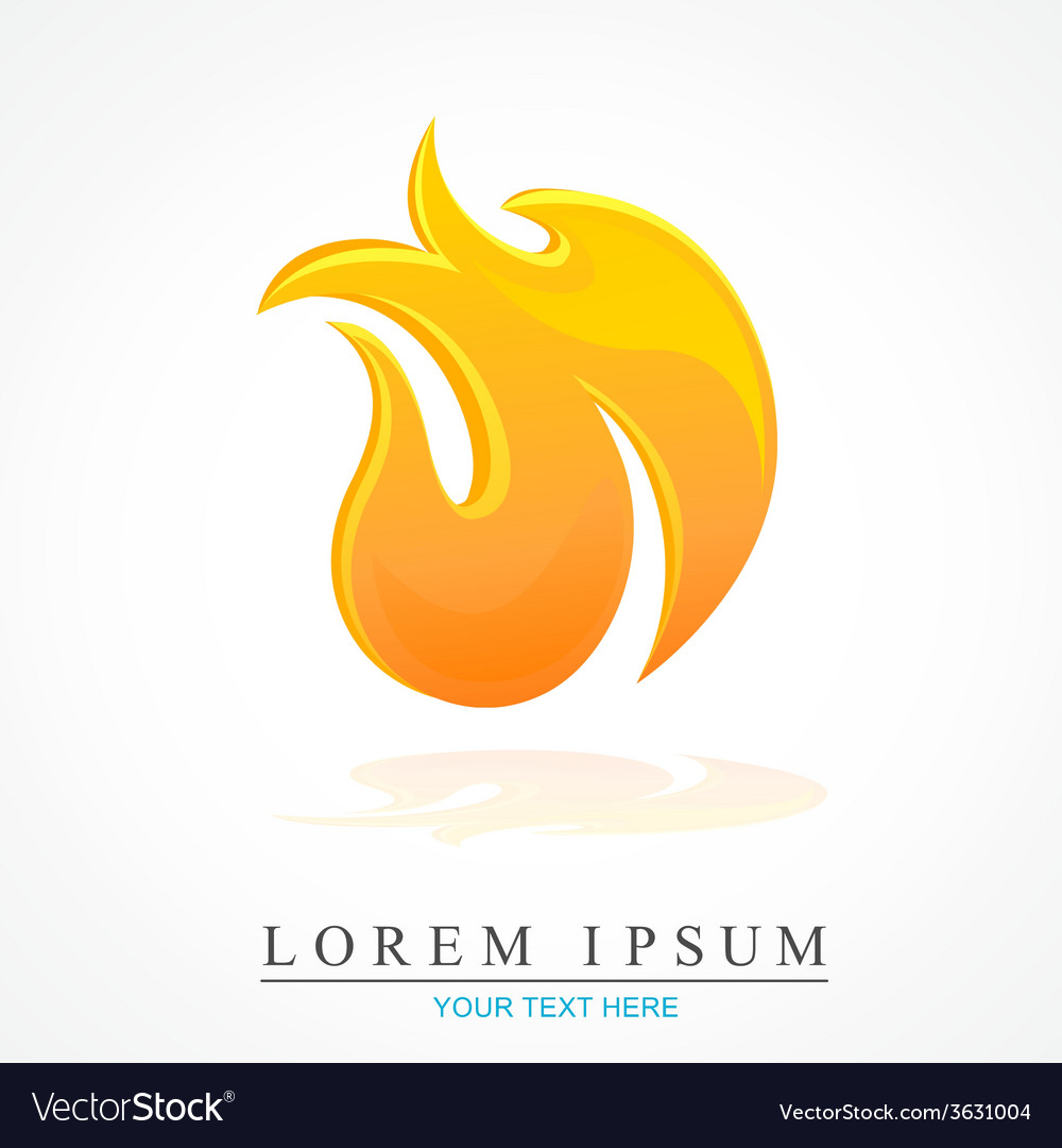 Fire flame design vector | Price: 1 Credit (USD $1)