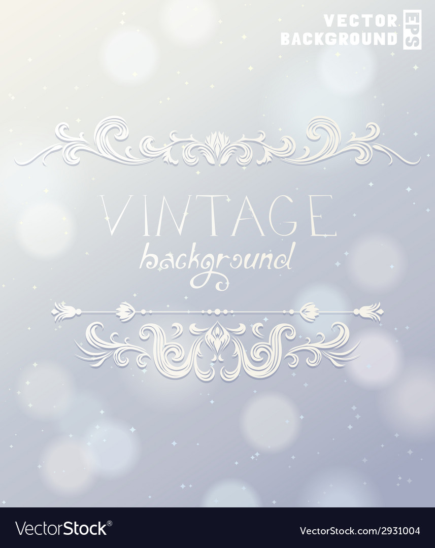 Vintage label for holiday design vector | Price: 1 Credit (USD $1)