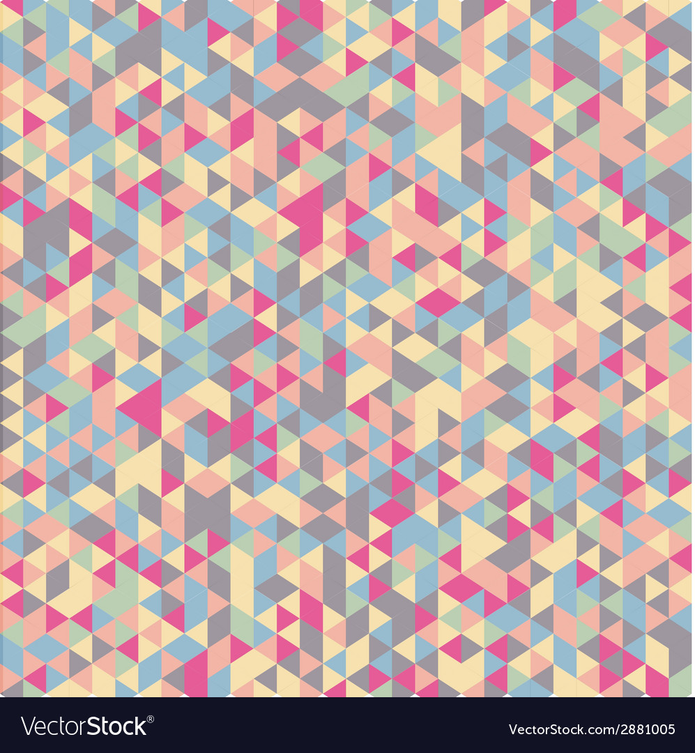 Color geometric background vector | Price: 1 Credit (USD $1)