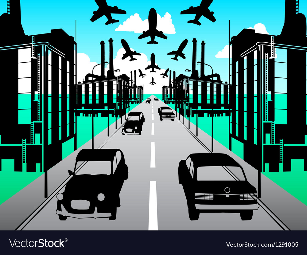 Urban scenery pack vector | Price: 1 Credit (USD $1)