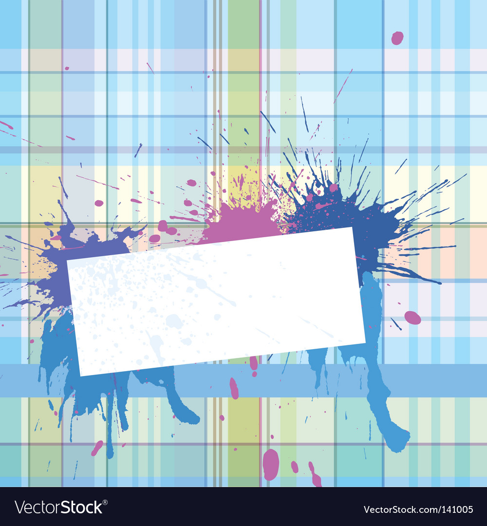 Vignette with checked background vector | Price: 1 Credit (USD $1)