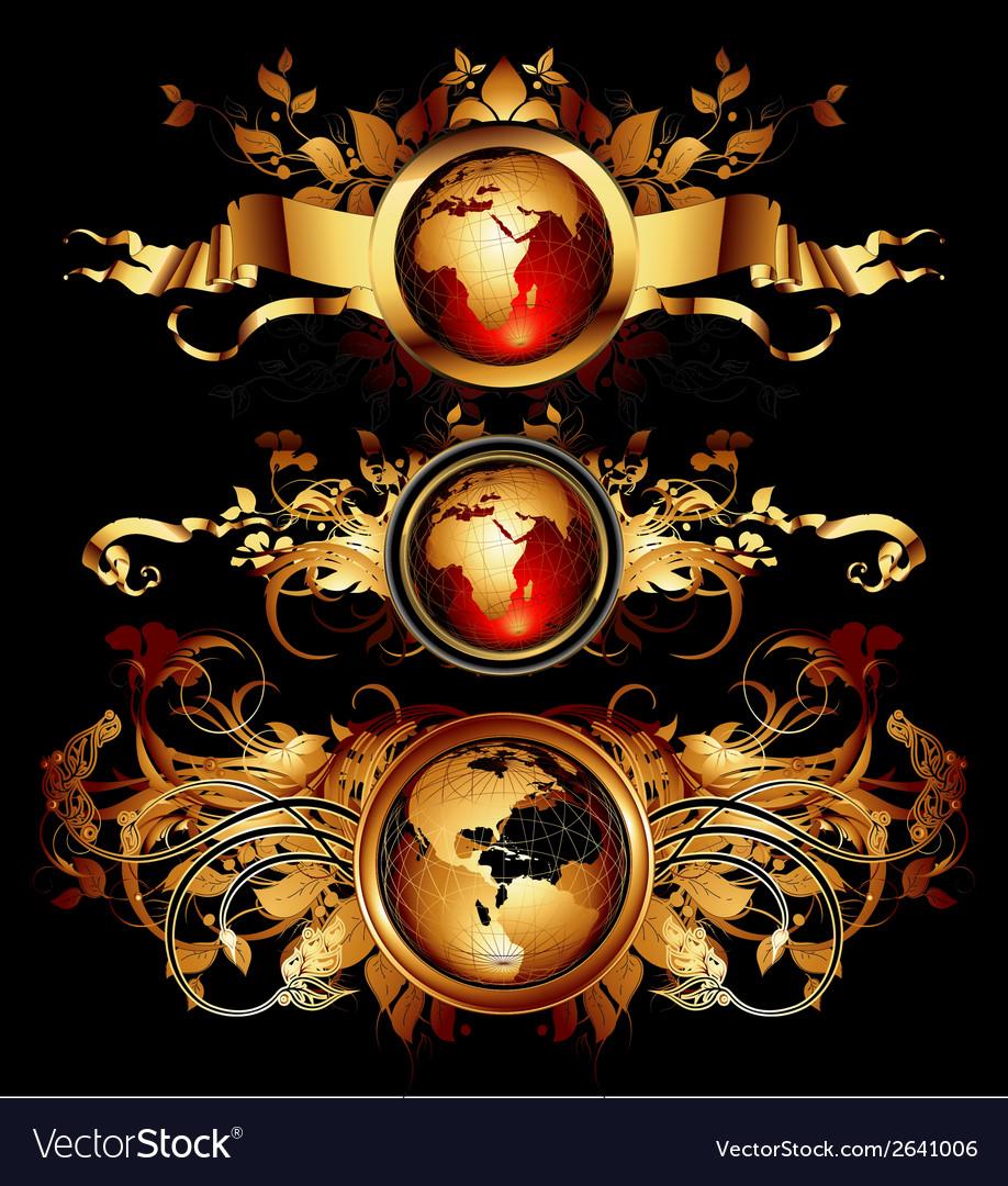 World frames set vector   Price: 3 Credit (USD $3)