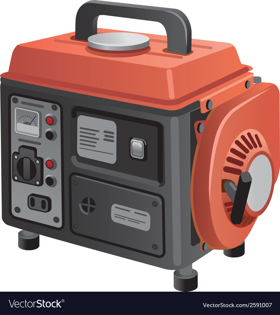 Mobile generator vector | Price: 1 Credit (USD $1)