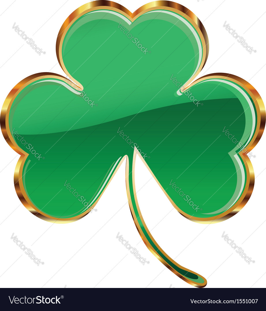 Shamrock or clover icon vector | Price: 1 Credit (USD $1)