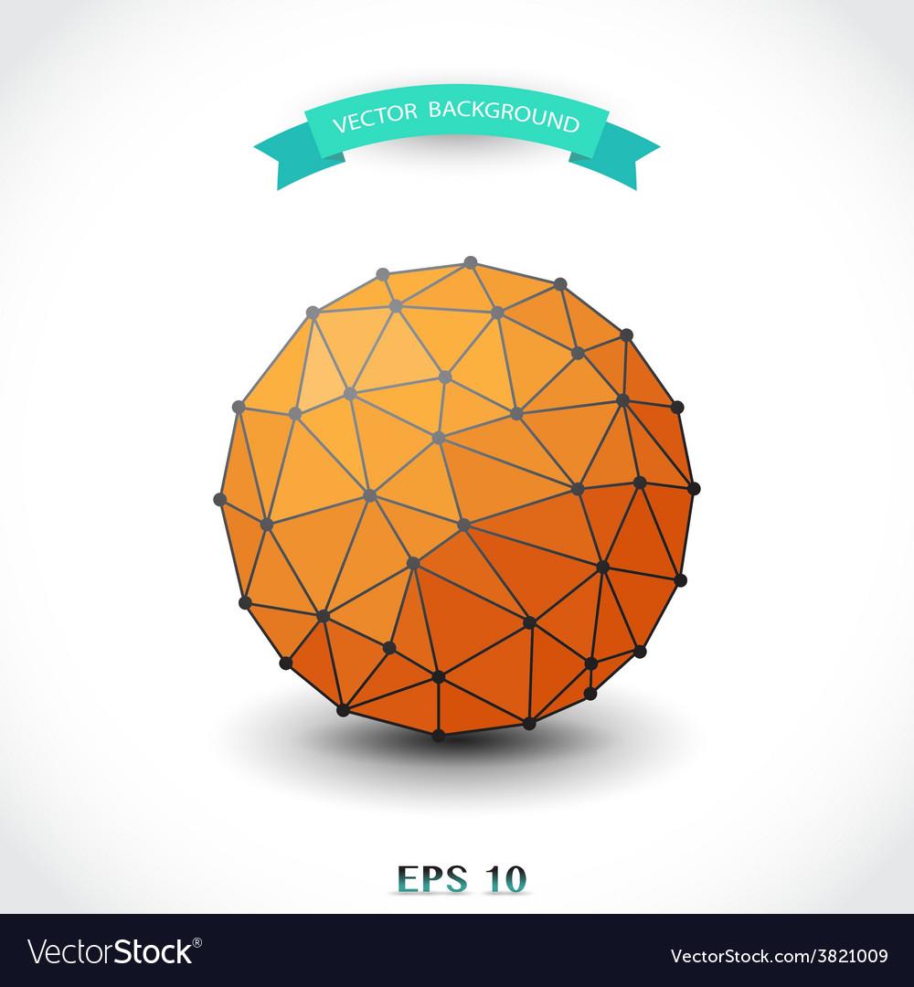 Molecular sphere vector | Price: 1 Credit (USD $1)