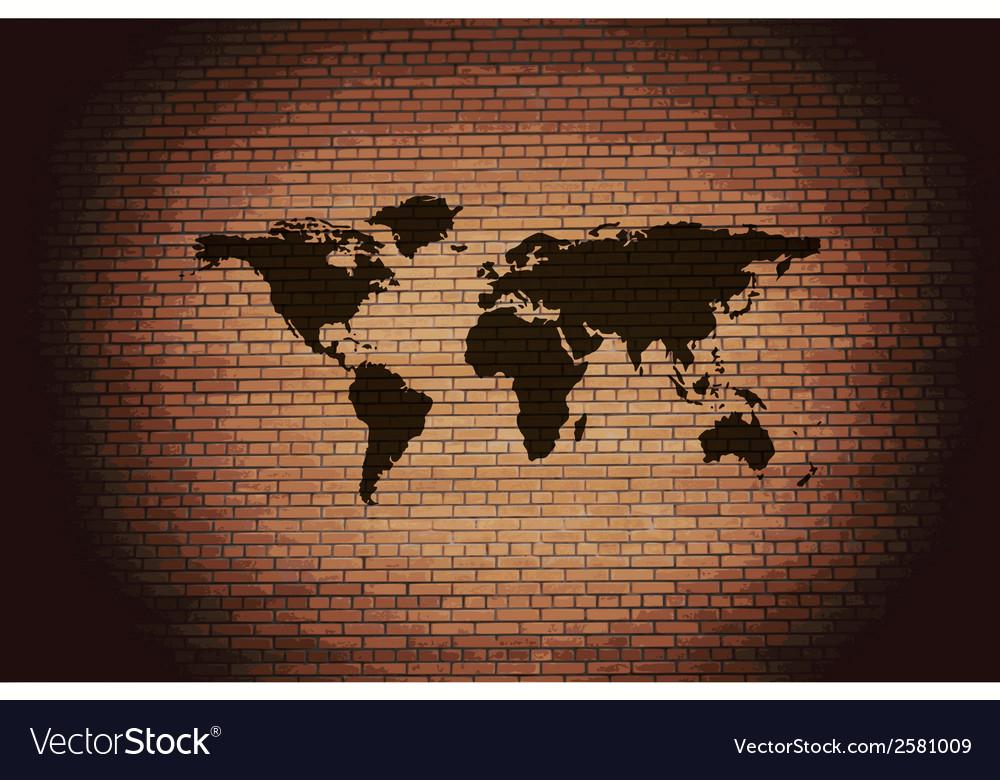 World map web icon flat design vector   Price: 1 Credit (USD $1)