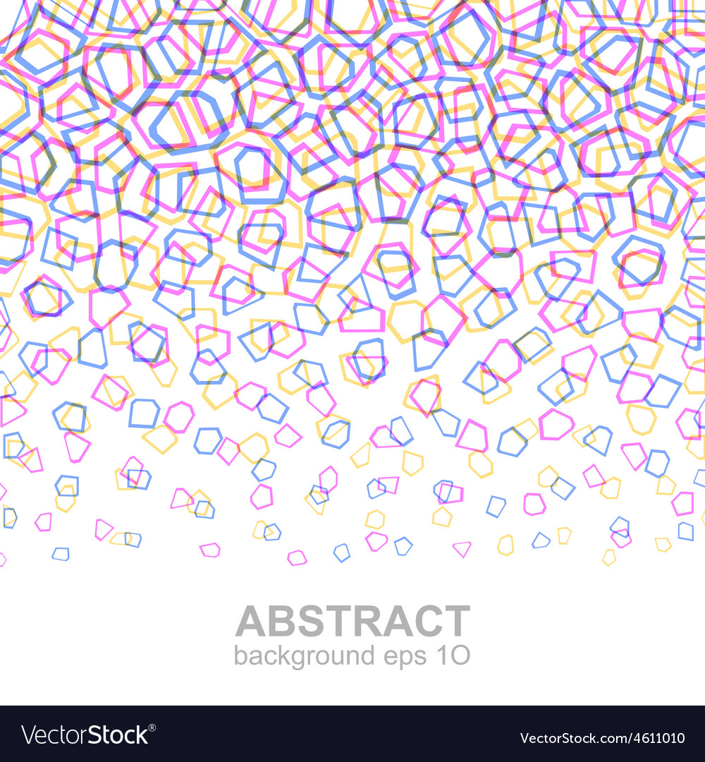 Abstract colorful geometric pattern vector | Price: 1 Credit (USD $1)