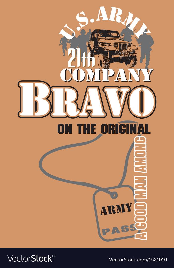 Art t shirt design by bravo models vector   Price: 1 Credit (USD $1)
