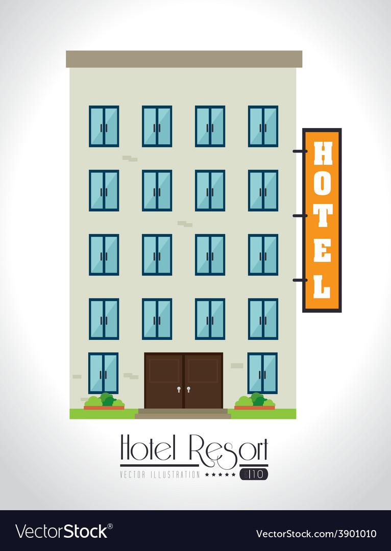 Hotel design vector   Price: 1 Credit (USD $1)