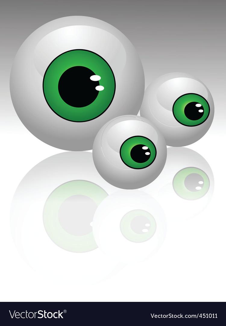 2008208 eyes vector | Price: 1 Credit (USD $1)