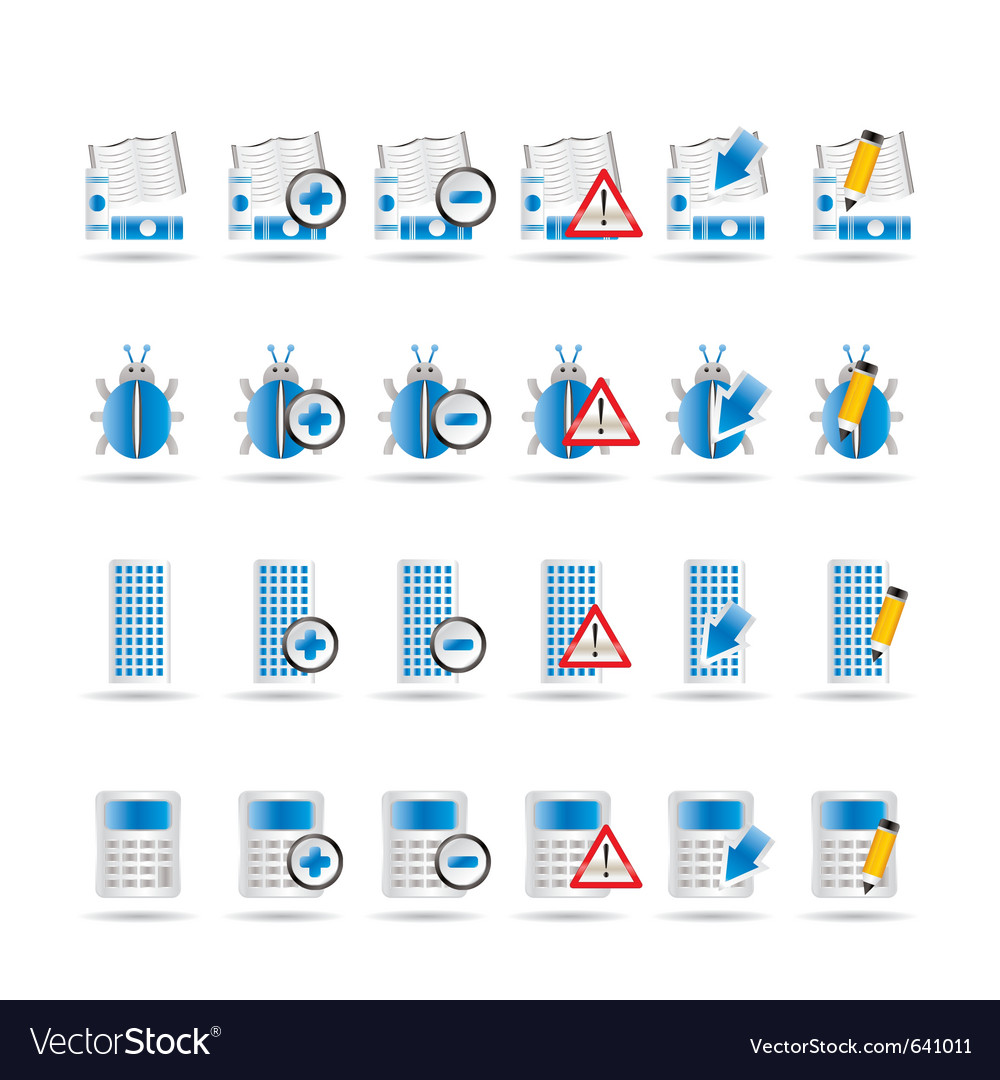 24 business and website icons vector | Price: 1 Credit (USD $1)