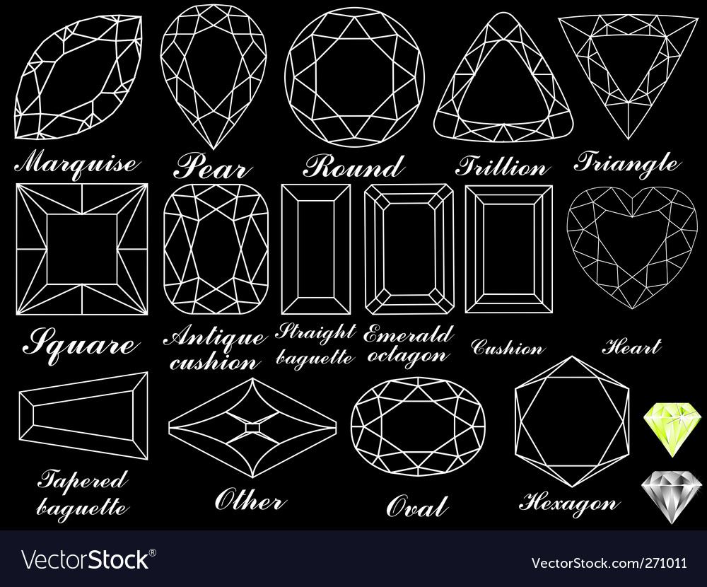 White diamonds background vector | Price: 1 Credit (USD $1)