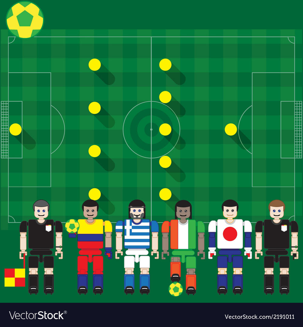 World cup 2014 group c vector   Price: 1 Credit (USD $1)