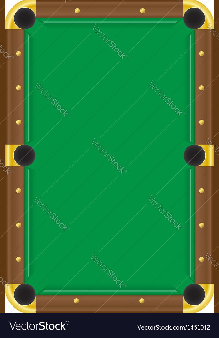 Billiard table vector   Price: 1 Credit (USD $1)