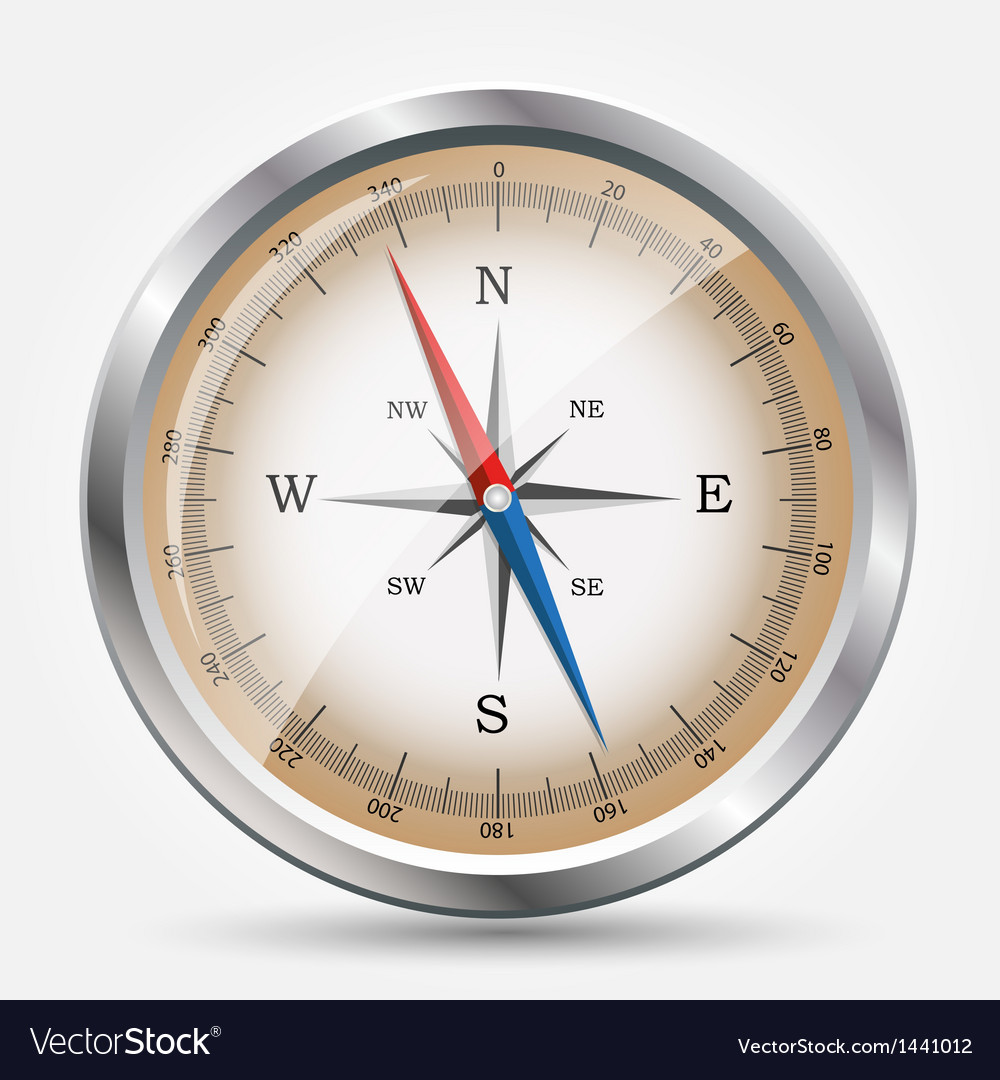 Glossy compass vector   Price: 1 Credit (USD $1)