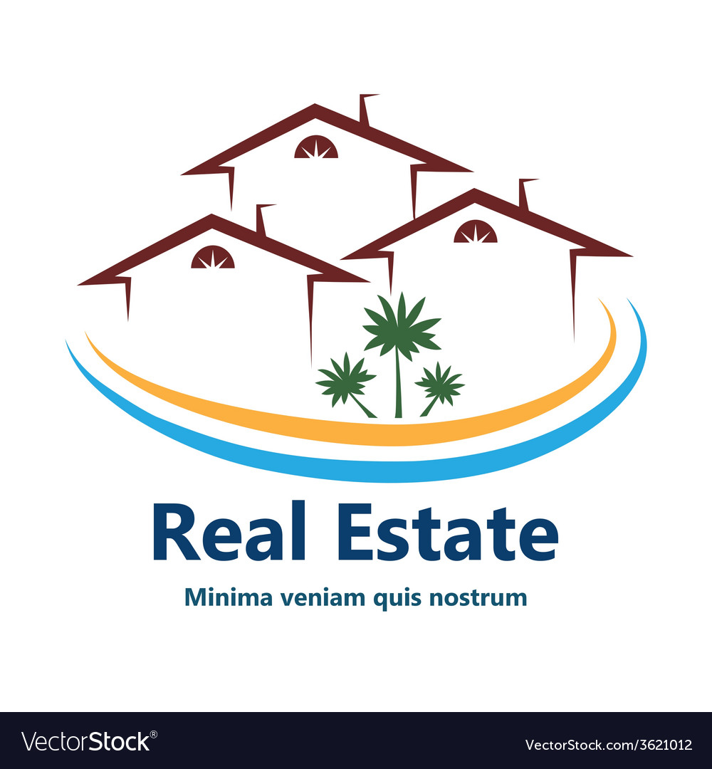 Real estate agency logo vector   Price: 1 Credit (USD $1)