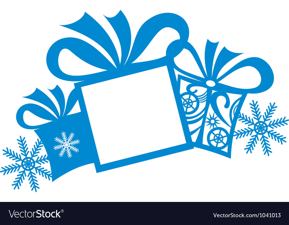 Christmas gifts background vector | Price: 1 Credit (USD $1)