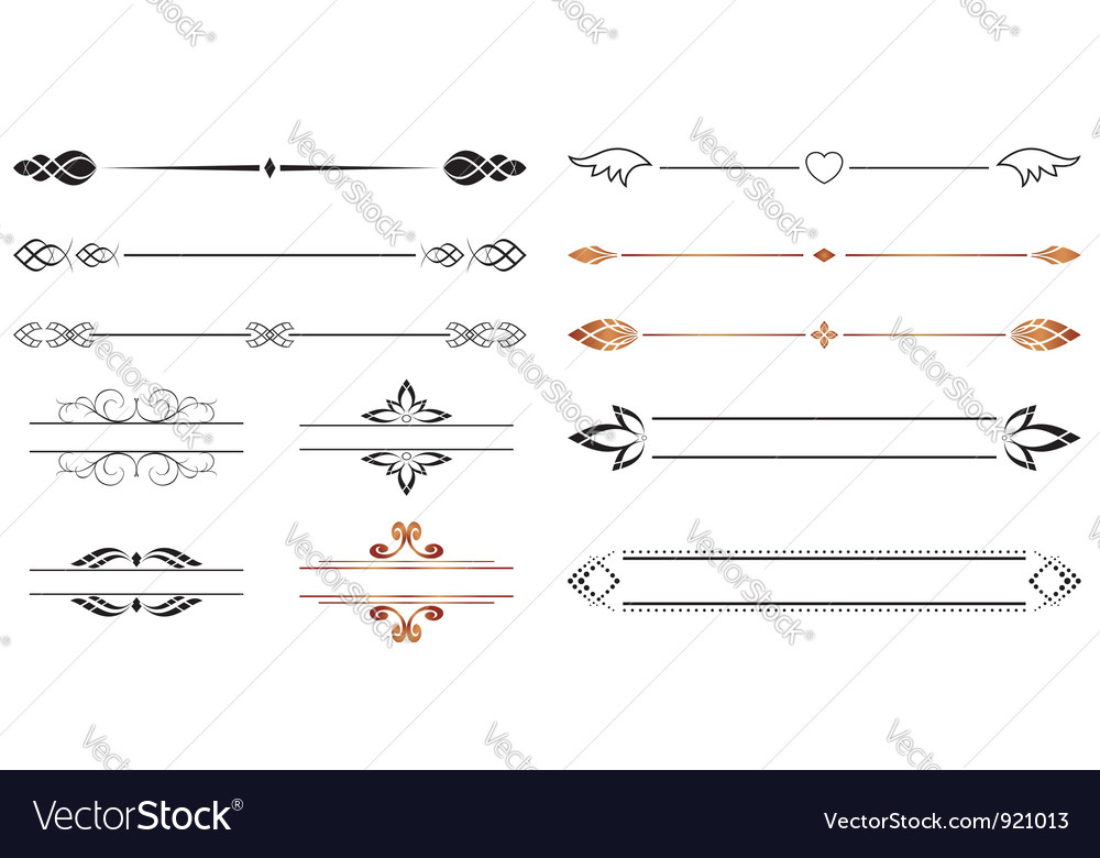 Geometric separators vector | Price: 1 Credit (USD $1)
