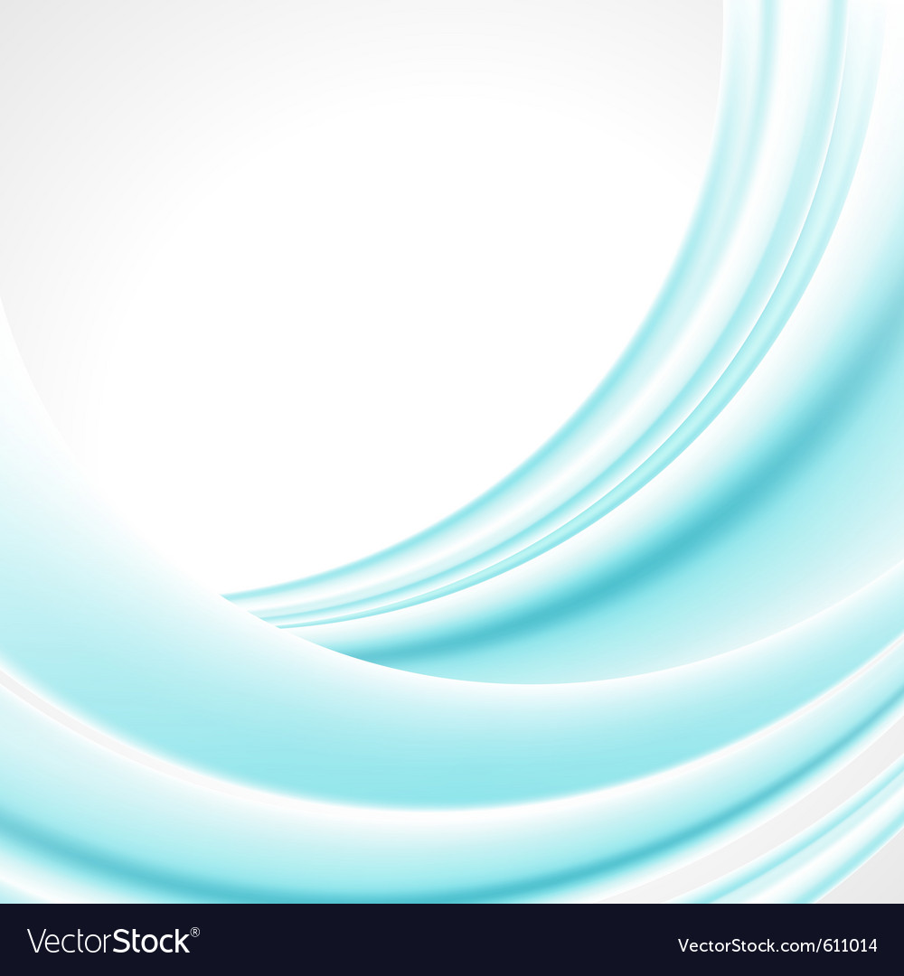 Abstract smooth light lines background vector | Price: 1 Credit (USD $1)