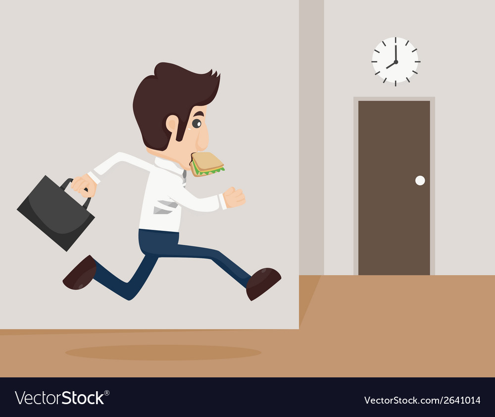 Businessman urgent vector | Price: 1 Credit (USD $1)