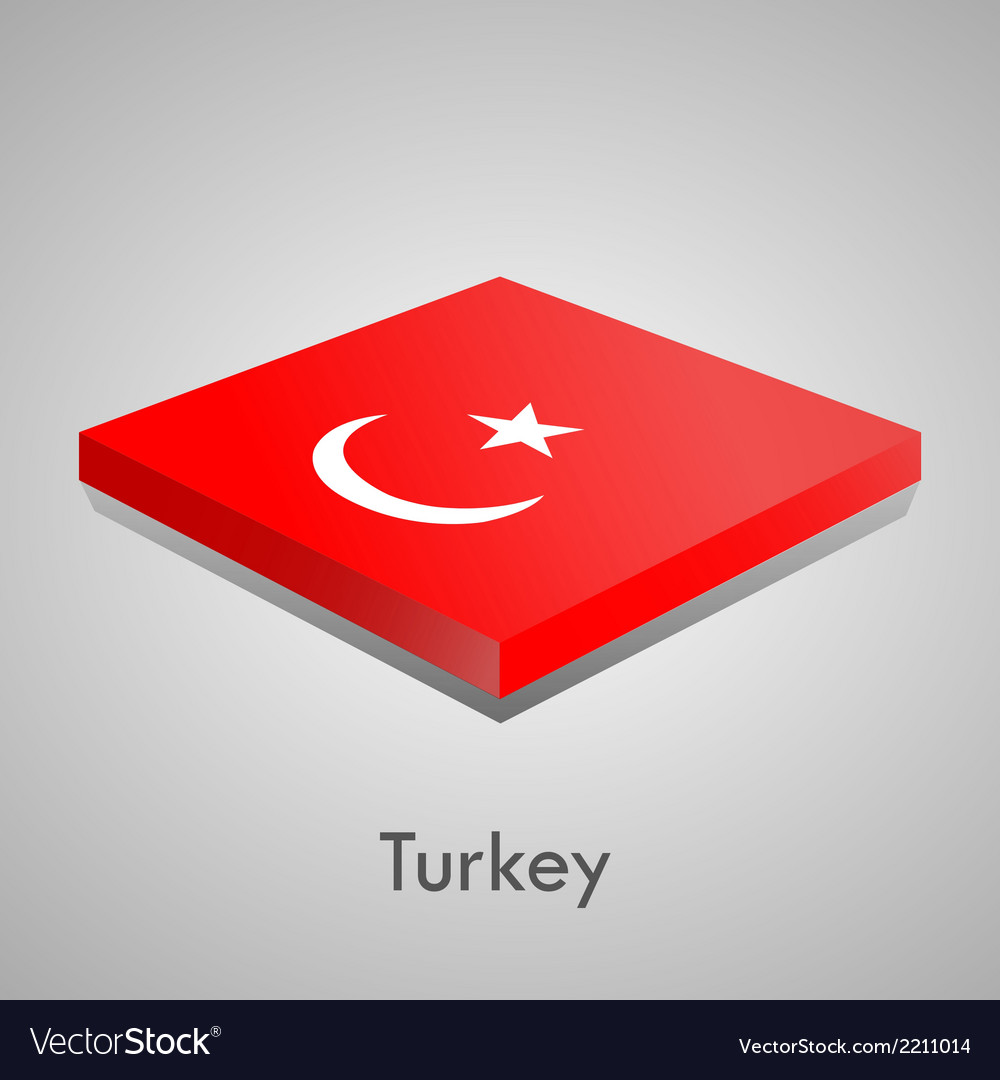 European flags set - turkey vector | Price: 1 Credit (USD $1)