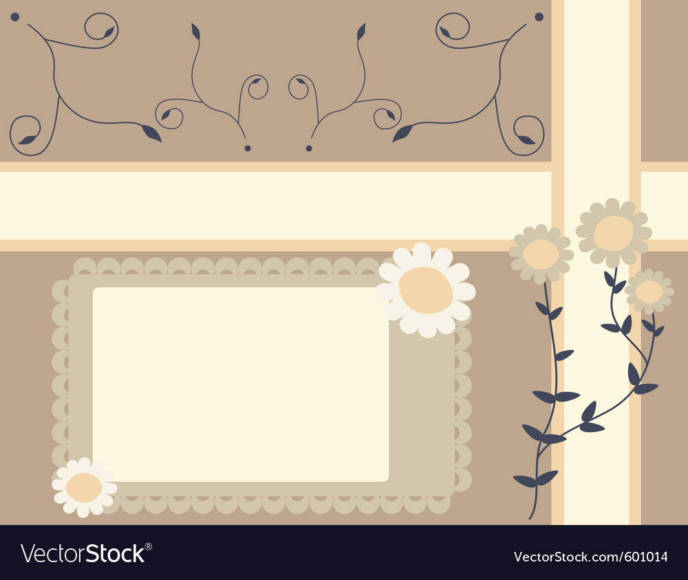 Garden background vector | Price: 1 Credit (USD $1)
