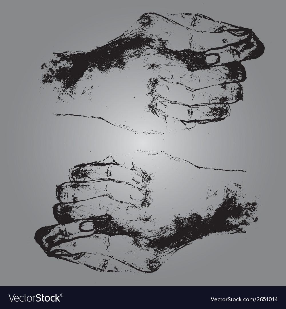 Hands eps10 vector | Price: 1 Credit (USD $1)