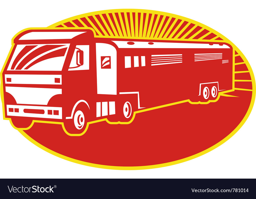 Horse transport vector | Price: 1 Credit (USD $1)