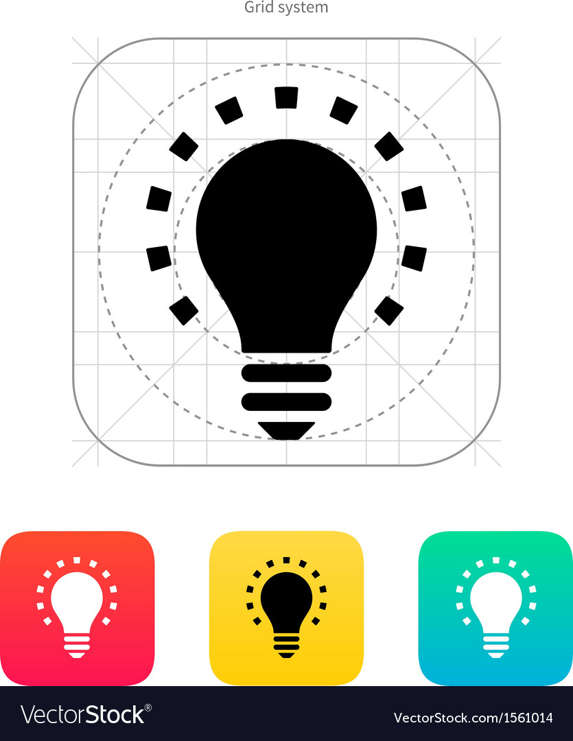 Less light icon vector | Price: 1 Credit (USD $1)