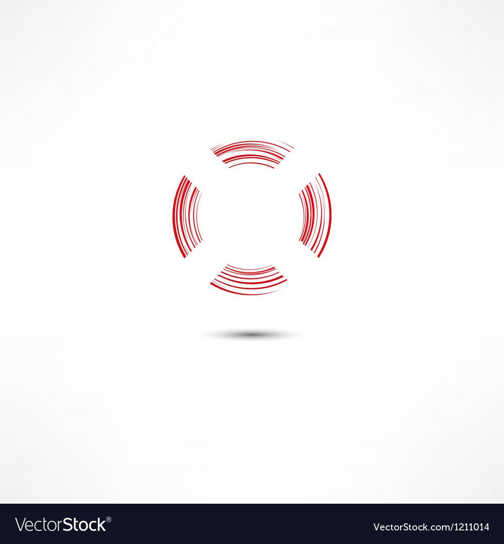 Lifebuoy icon vector   Price: 1 Credit (USD $1)