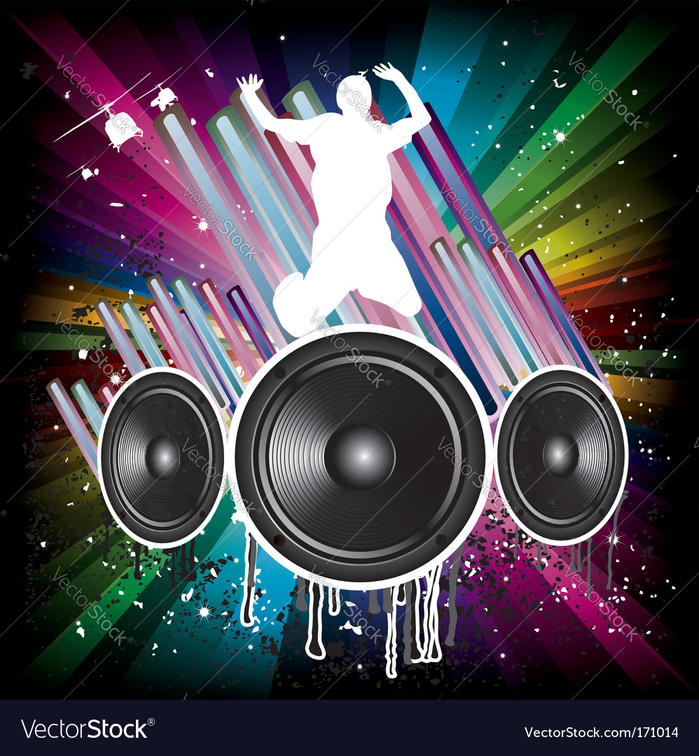 Music background for disco flyers vector | Price: 1 Credit (USD $1)