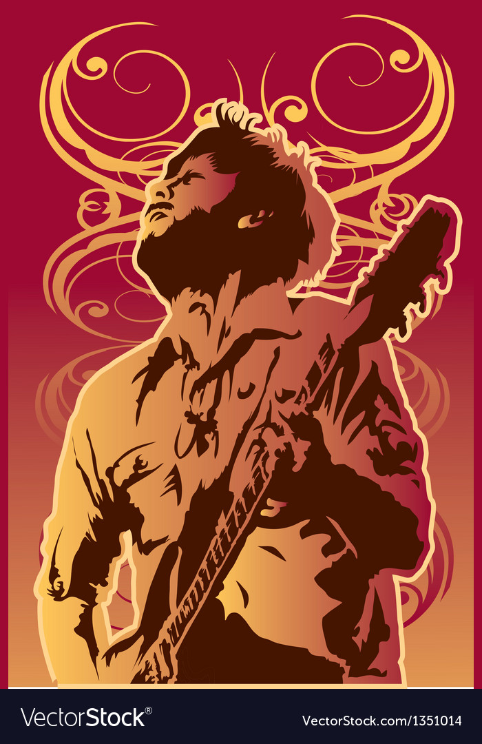 Music-man vector | Price: 1 Credit (USD $1)