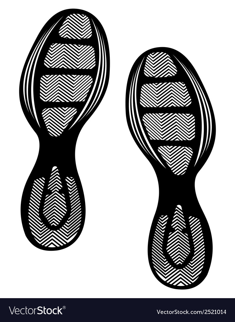 Otisak cipela2 vector | Price: 1 Credit (USD $1)