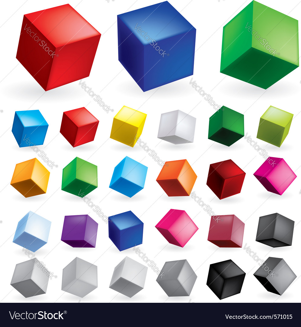 Cubes vector | Price: 1 Credit (USD $1)