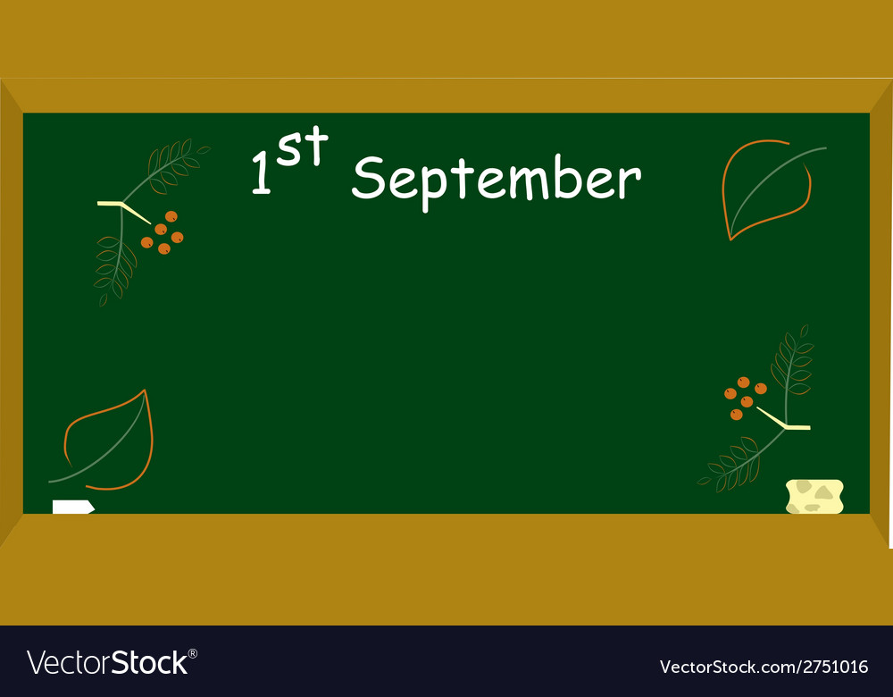 1st september vector | Price: 1 Credit (USD $1)