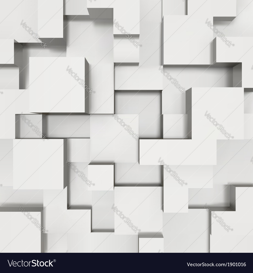 3d blocks structure background vector | Price: 1 Credit (USD $1)
