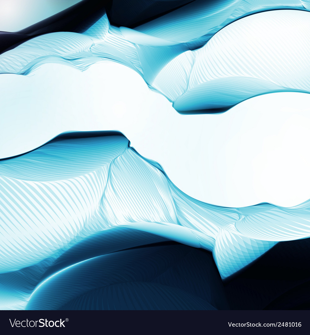 Abstract background in blue color vector | Price: 1 Credit (USD $1)