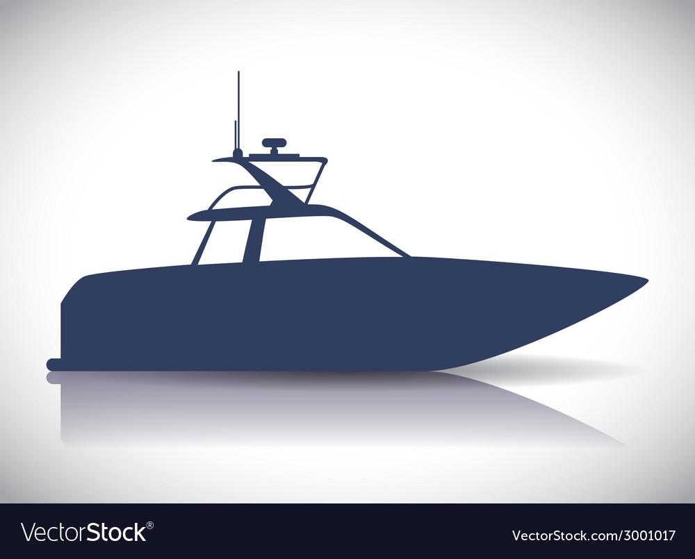 Boat design vector   Price: 1 Credit (USD $1)