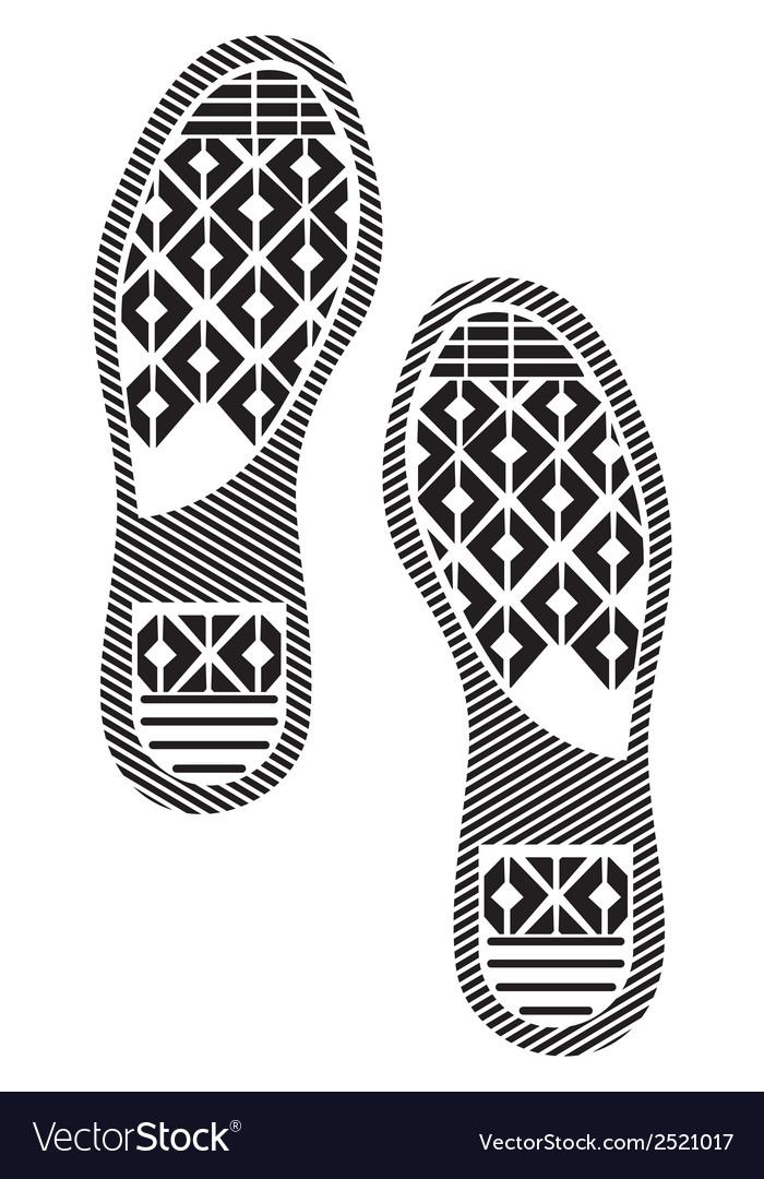 Otisak cipela3 vector | Price: 1 Credit (USD $1)