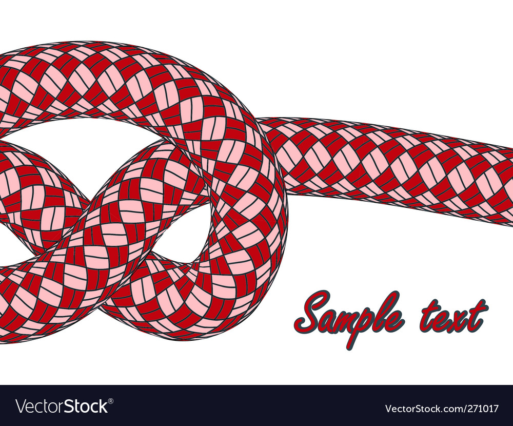Rope knot vector | Price: 1 Credit (USD $1)